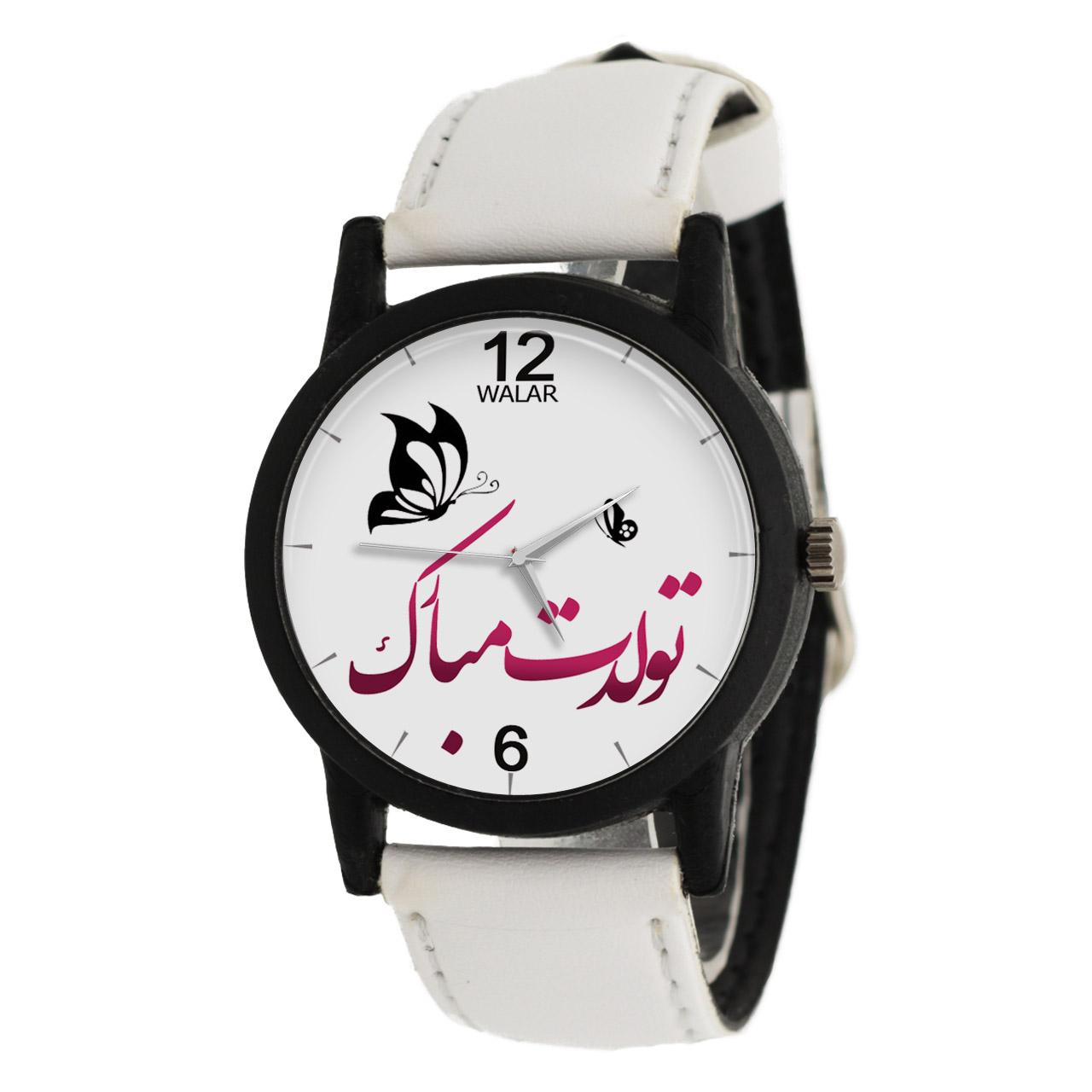 ساعت مچی عقربه ای زنانه والار مدل LF1480 14