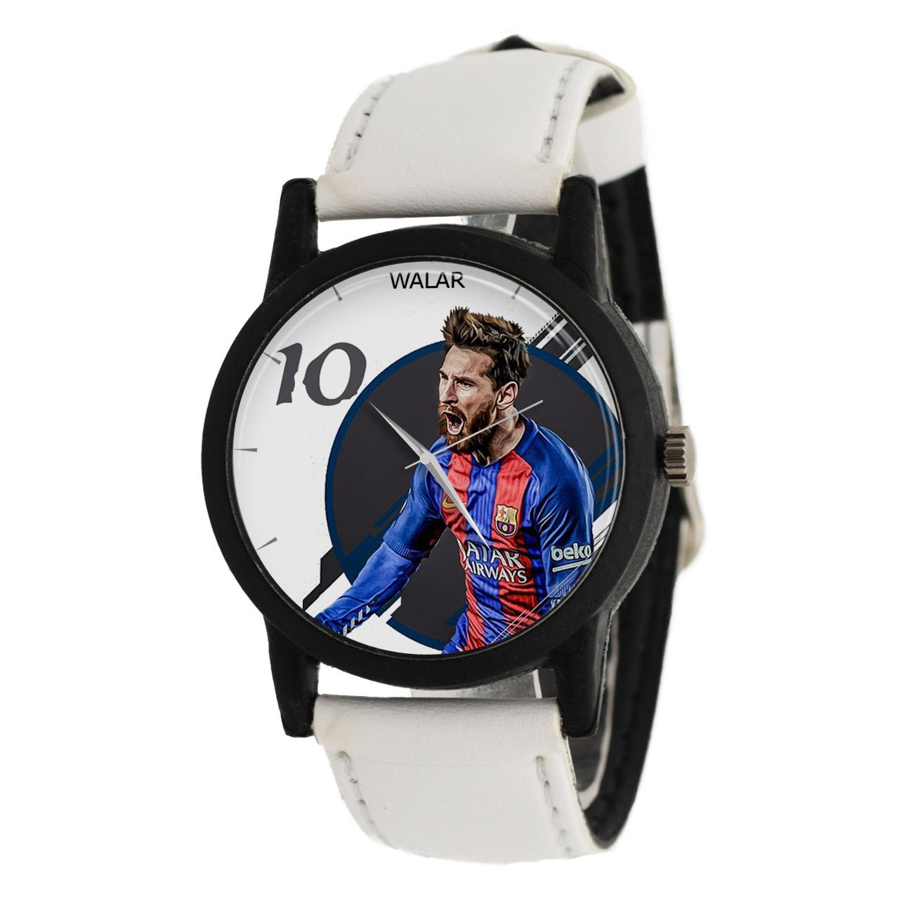 کد تخفیف                                      ساعت مچی عقربه ای مردانه والار طرح مسی مدل LF1488
