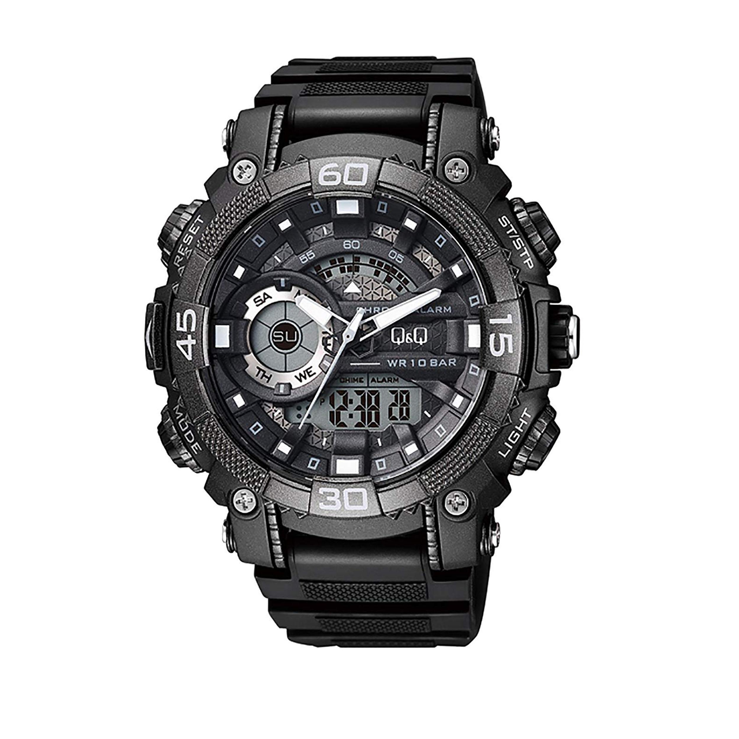 ساعت مچی دیجیتال مردانه کیو اند کیو مدل GW87J001Y