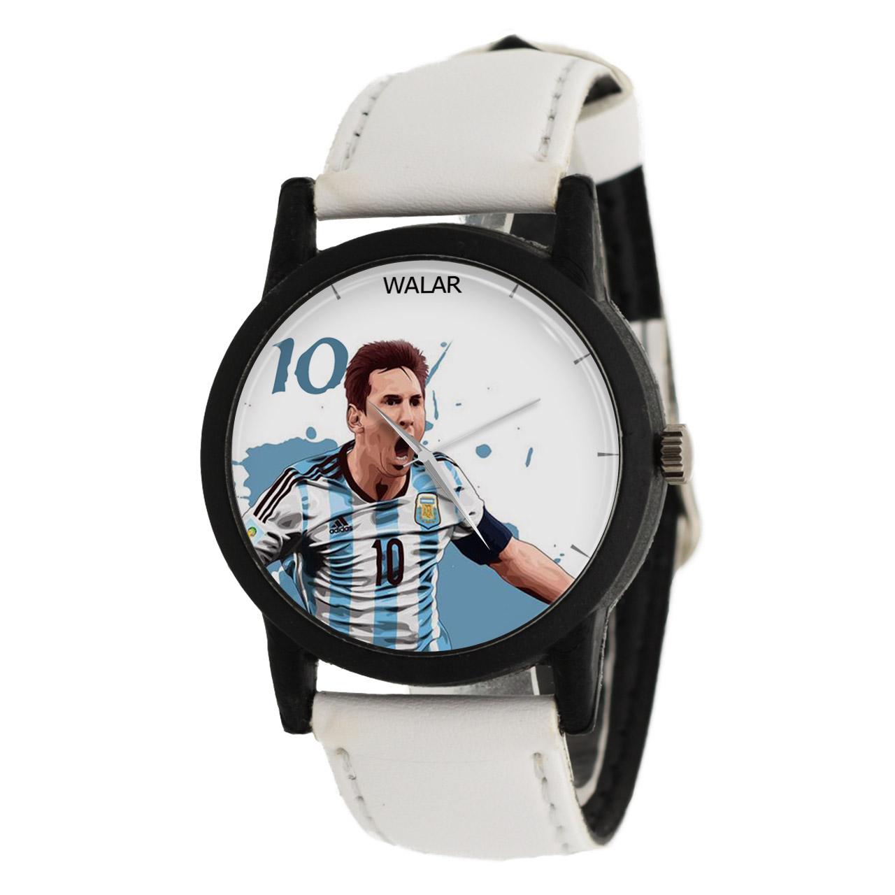 کد تخفیف                                      ساعت مچی عقربه ای مردانه والار طرح مسی مدل LF1490