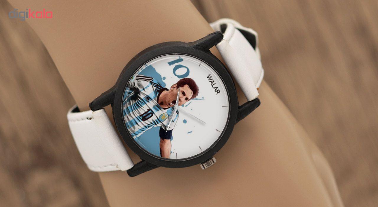 ساعت مچی عقربه ای مردانه والار طرح مسی مدل LF1490