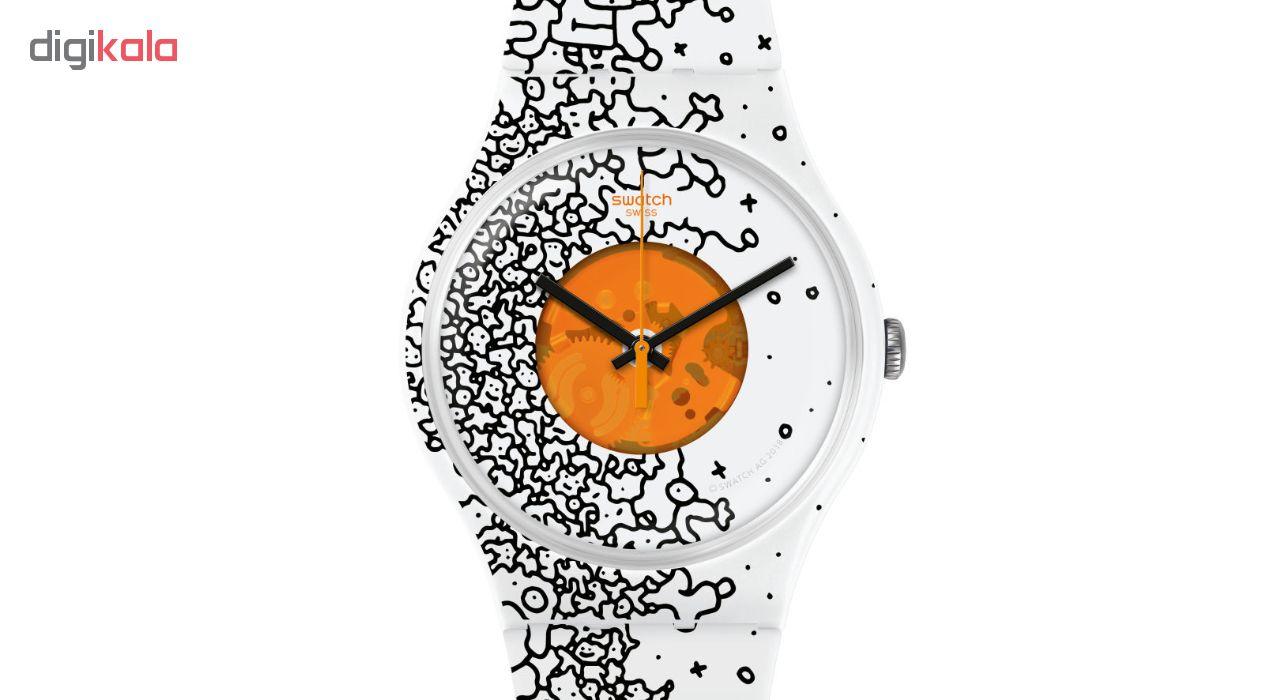 ساعت مچی عقربه ای سواچ مدل SUOW167
