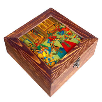 جعبه چای کیسه ای مدل C12