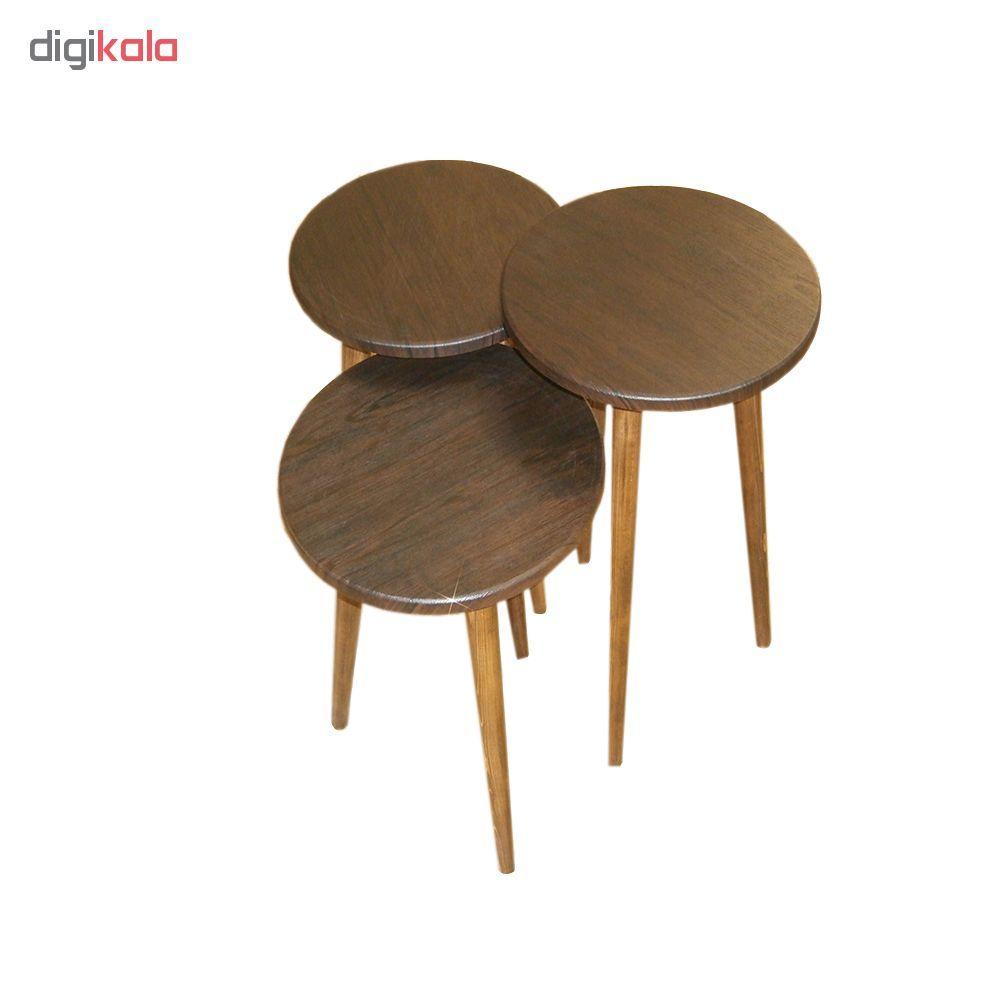 میز عسلی مدل 456 کد 01 مجموعه 3 عددی main 1 1