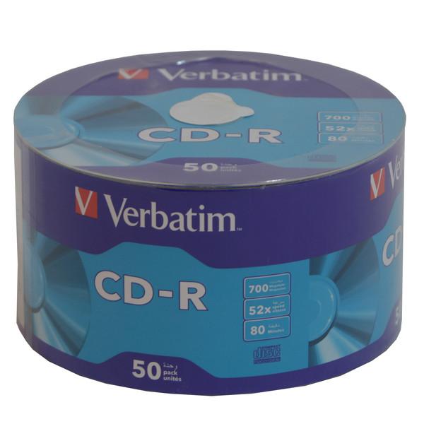 سی دی خام ورباتیم مدل CRV بسته 50 عددی