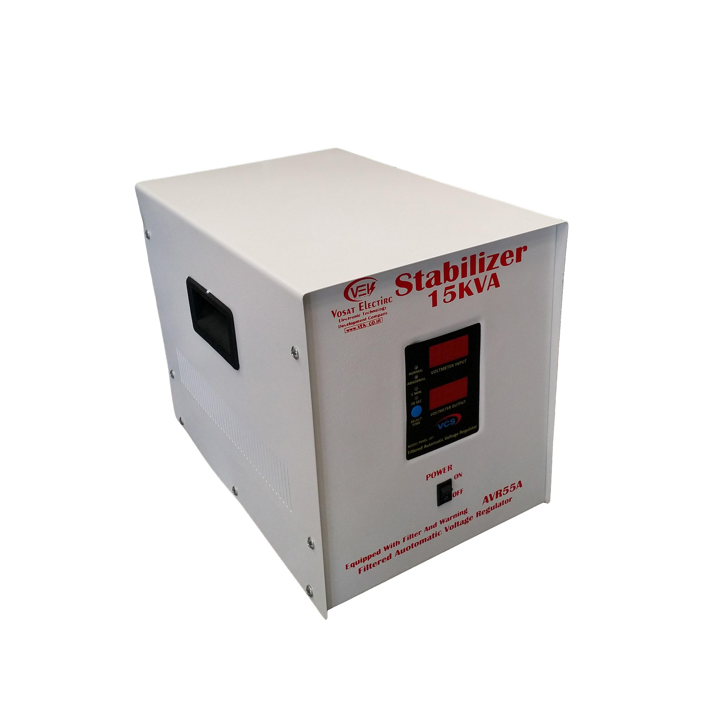 استابلایزر وسعت الکترونیک مدل VEK-15 ظرفیت 15000VA