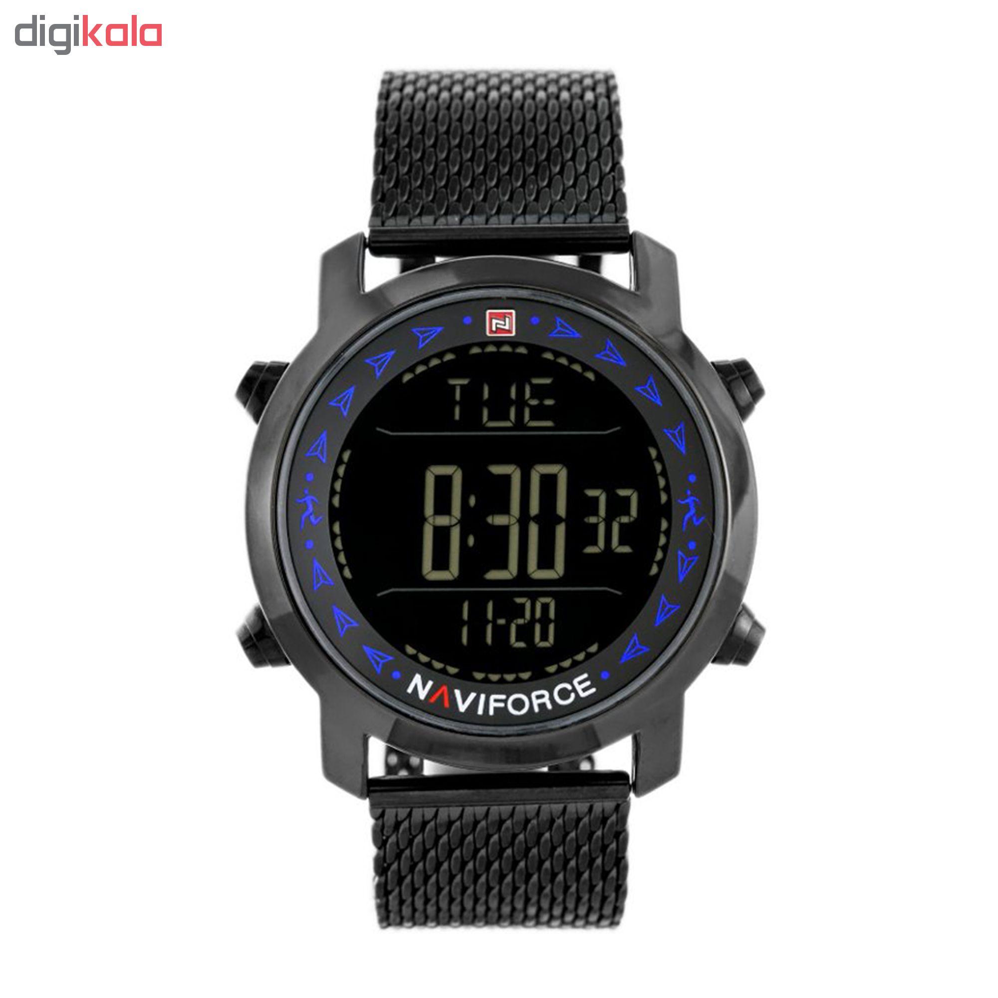 ساعت مچی دیجیتال مردانه نیوی فورس مدل NF9130 / BBBE
