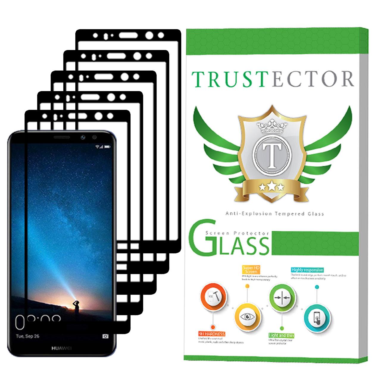 محافظ صفحه نمایش تراستکتور مدل GSS مناسب برای گوشی موبایل هوآوی Mate 10 Lite بسته 5 عددی