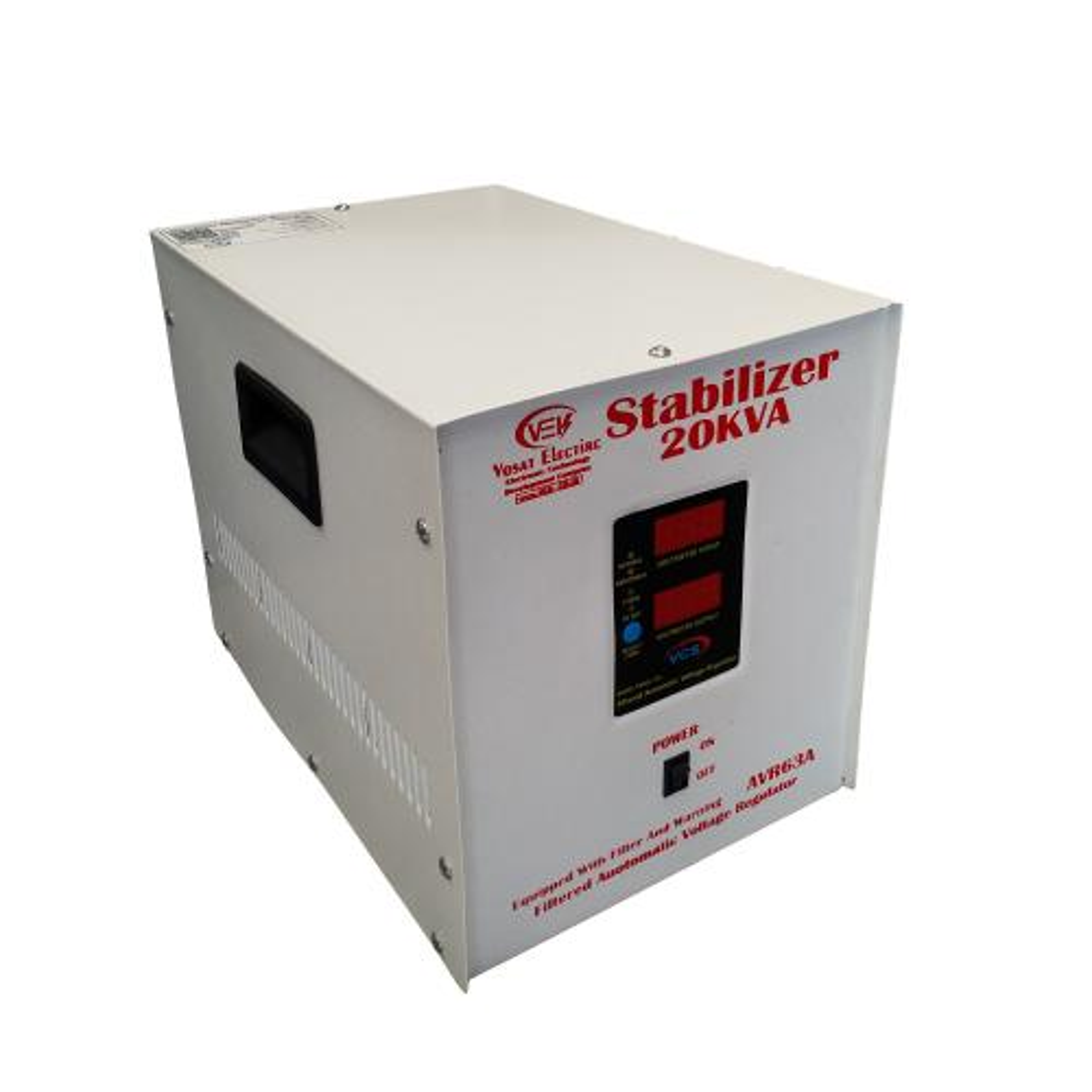 استابلایزر وسعت الکترونیک مدل VEK-20 ظرفیت 20000VA