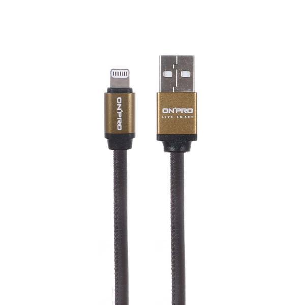 کابل تبدیل USB به لایتنینگ آنپرو مدل UC-MFI Simple طول 1 متر