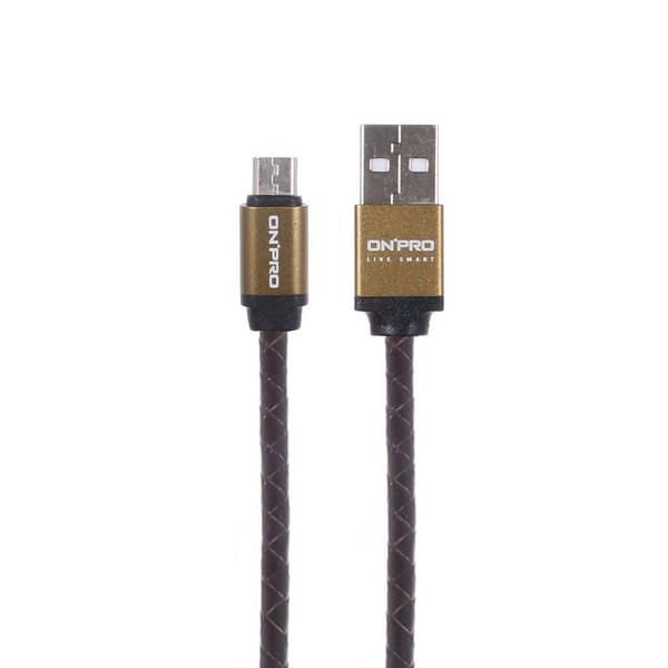 کابل تبدیل USB به microUSB آنپرو مدل UC-Micro طول 1 متر