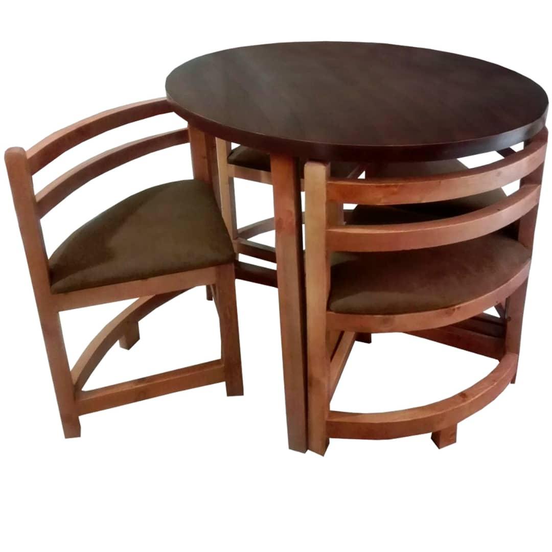 میز و صندلی ناهار خوری مدل javan کد 19