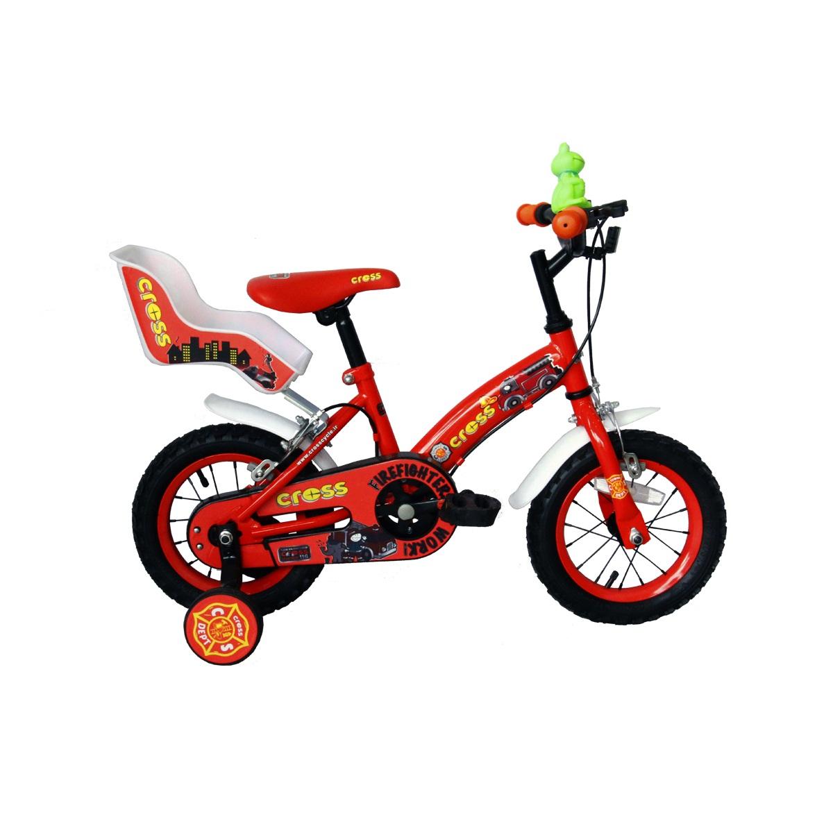 دوچرخه شهری کراس مدل FIREFIGHTER سایز 12