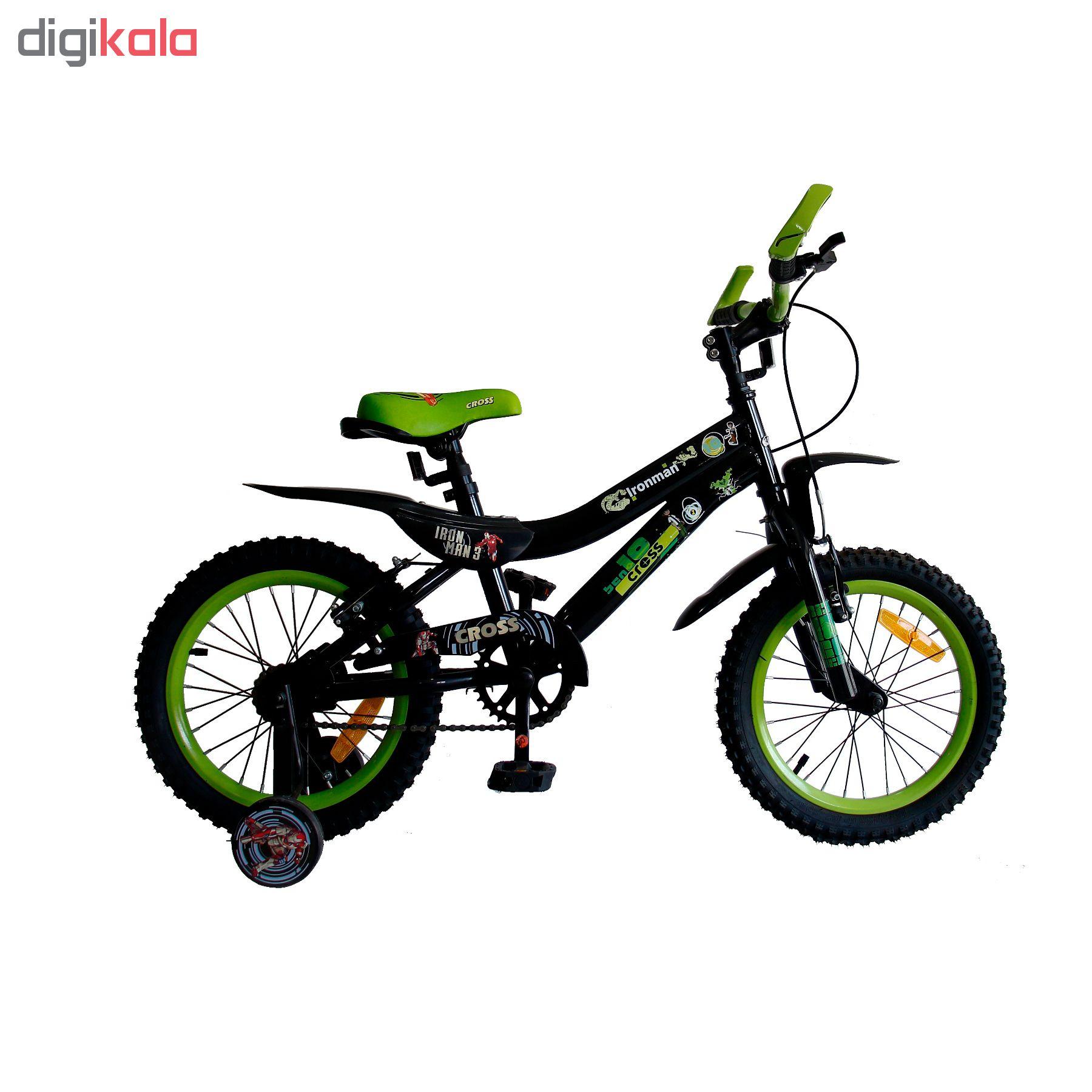 دوچرخه شهری کراس مدل IRONMAN سایز 16