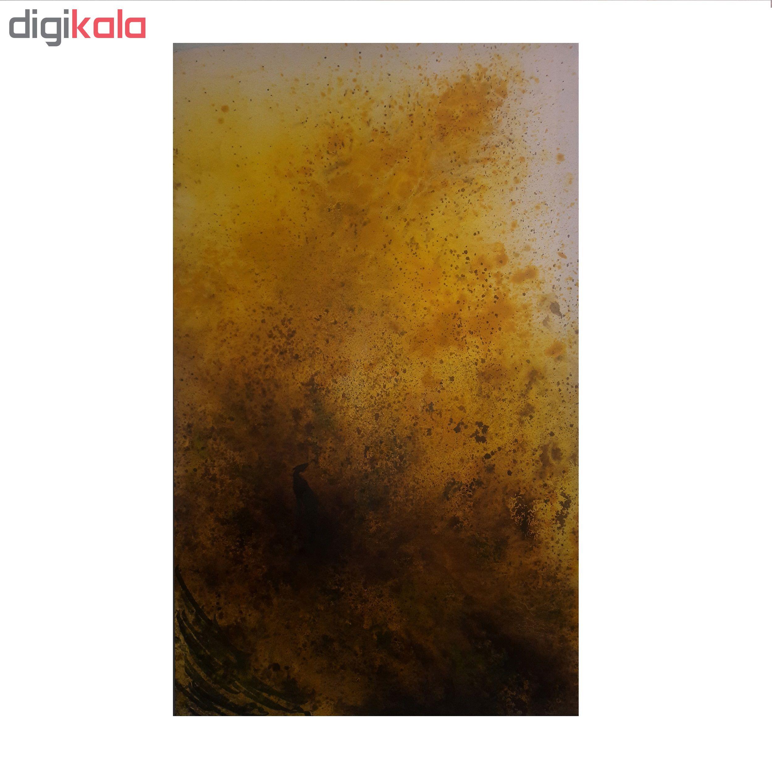خرید                      تابلو نقاشی طرح نبرد رخش با شیر بیشه