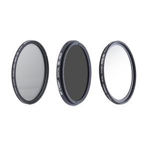 فیلتر لنز کی اند اف مدل KF 77mm مجموعه 3 عددی