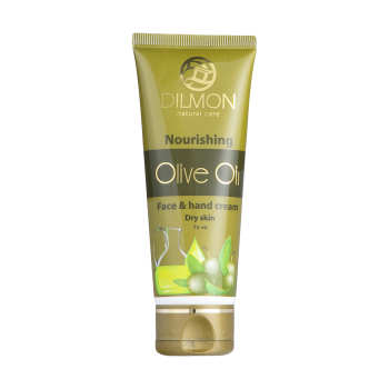 کرم مرطوب کننده دست و صورت دیلمون مدل Olive Oil حجم 75 میلی لیتر