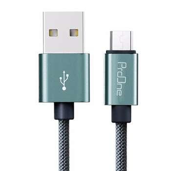 کابل تبدیل USB به microUSB پرووان مدل ELG12 طول 1 متر