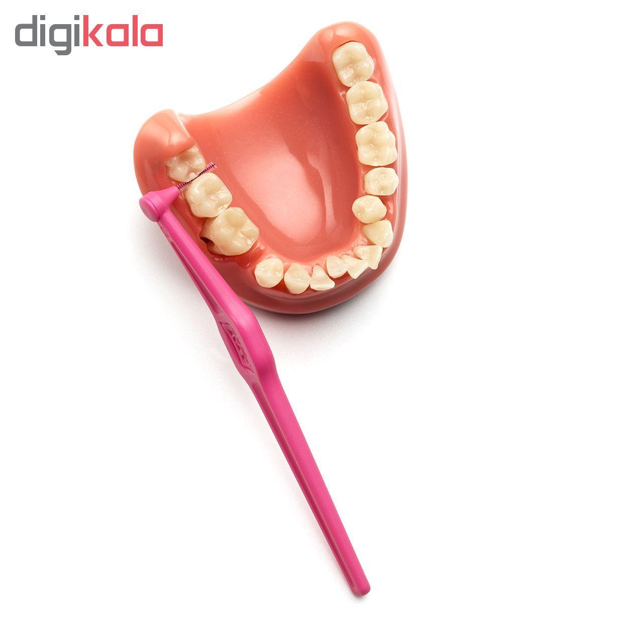 مسواک بین دندانی تهپه مدل Angle سایز 0 بسته ۶ عددی main 1 2