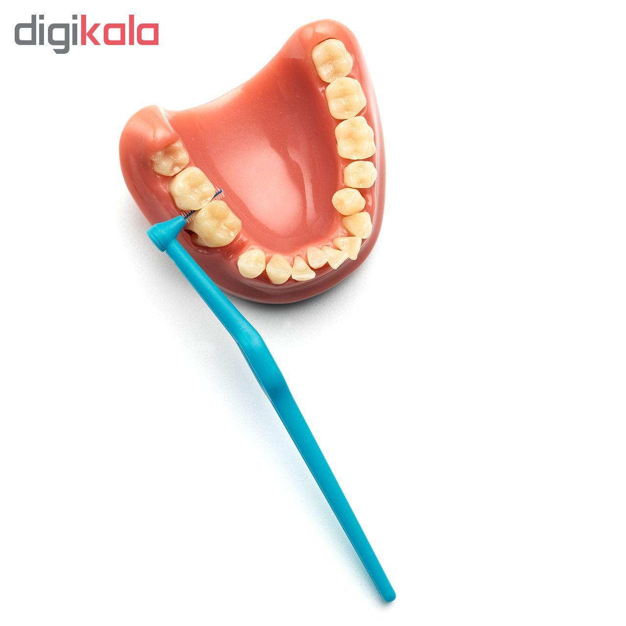 مسواک بین دندانی تهپه مدل Angle سایز 3 بسته ۶ عددی main 1 2