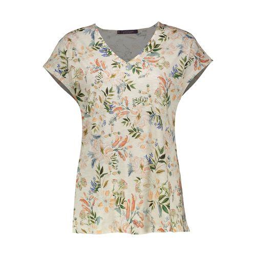 تی شرت نخی یقه هفت زنانه - ویولتا بای مانگو