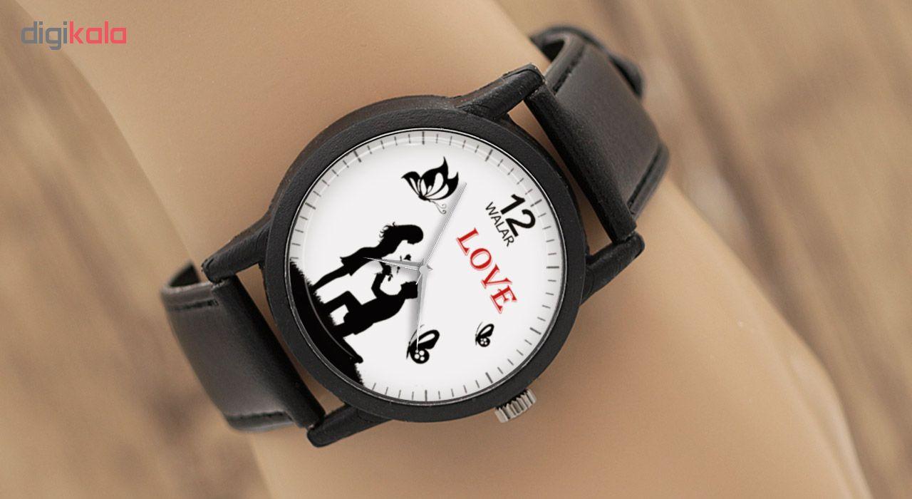 ساعت مچی عقربه ای زنانه والار مدل LF1301