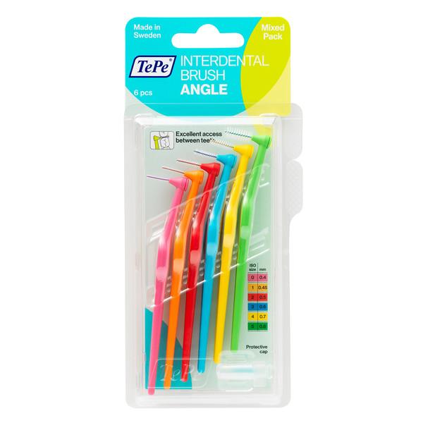 مسواک بین دندانی تهپه مدل Angle سایز 5 بسته ۶ عددی