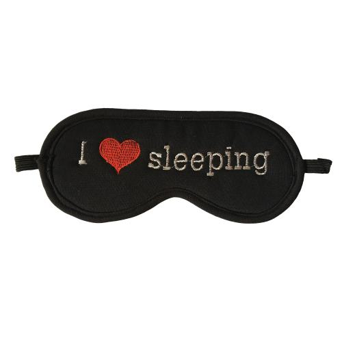 چشم بند خواب سیلکا طرح قلب کد 34002