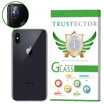 محافظ لنز دوربین تراستکتور مدل CLP مناسب برای گوشی موبایل اپل iPhone X
