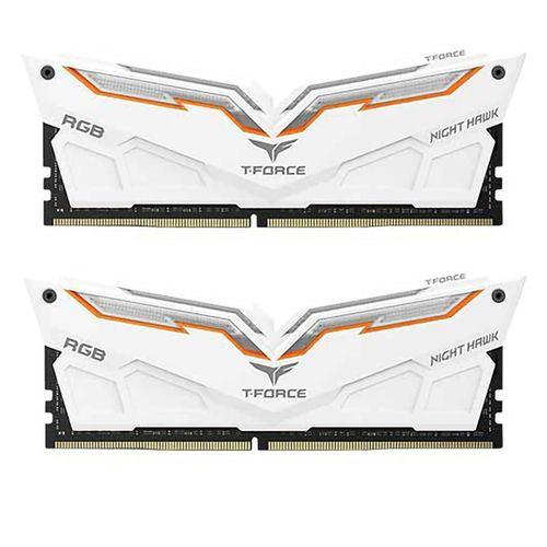 رم دسکتاپ DDR4 دو کاناله 3200 مگاهرتز CL16 تیم گروپ مدل NIGHT HAWK ظرفیت 32 گیگابایت