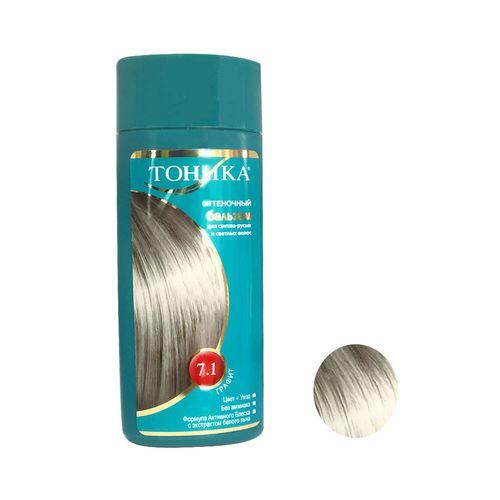 شامپو رنگ مو توهیکا شماره 7.1 حجم 150 میلی لیتر رنگ بلوند دودی روشن