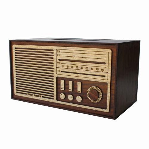 جعبه دستمال کاغذی دنالیزر طرح رادیو کدdr2