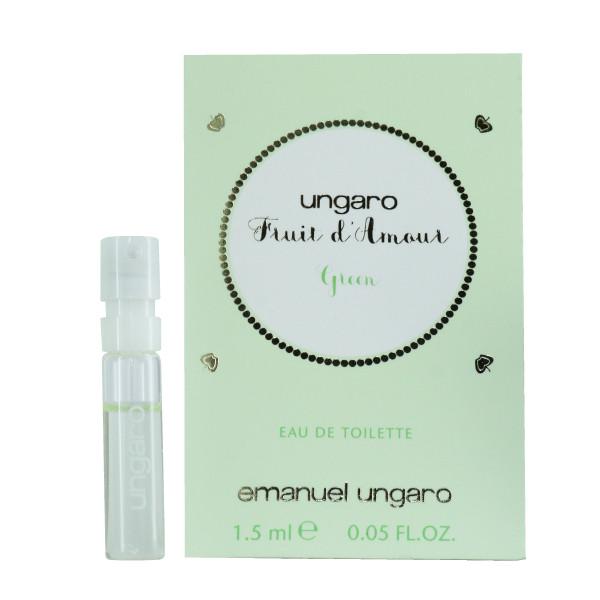عطر جیبی زنانه امانویل اونگارو مدل Fruit d'Amour Green حجم 1.5 میلی لیتر