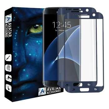 محافظ صفحه نمایش آواتار مدل SS7EDG-2 مناسب برای گوشی موبایل سامسونگ Galaxy s7 edge بسته دو عددی