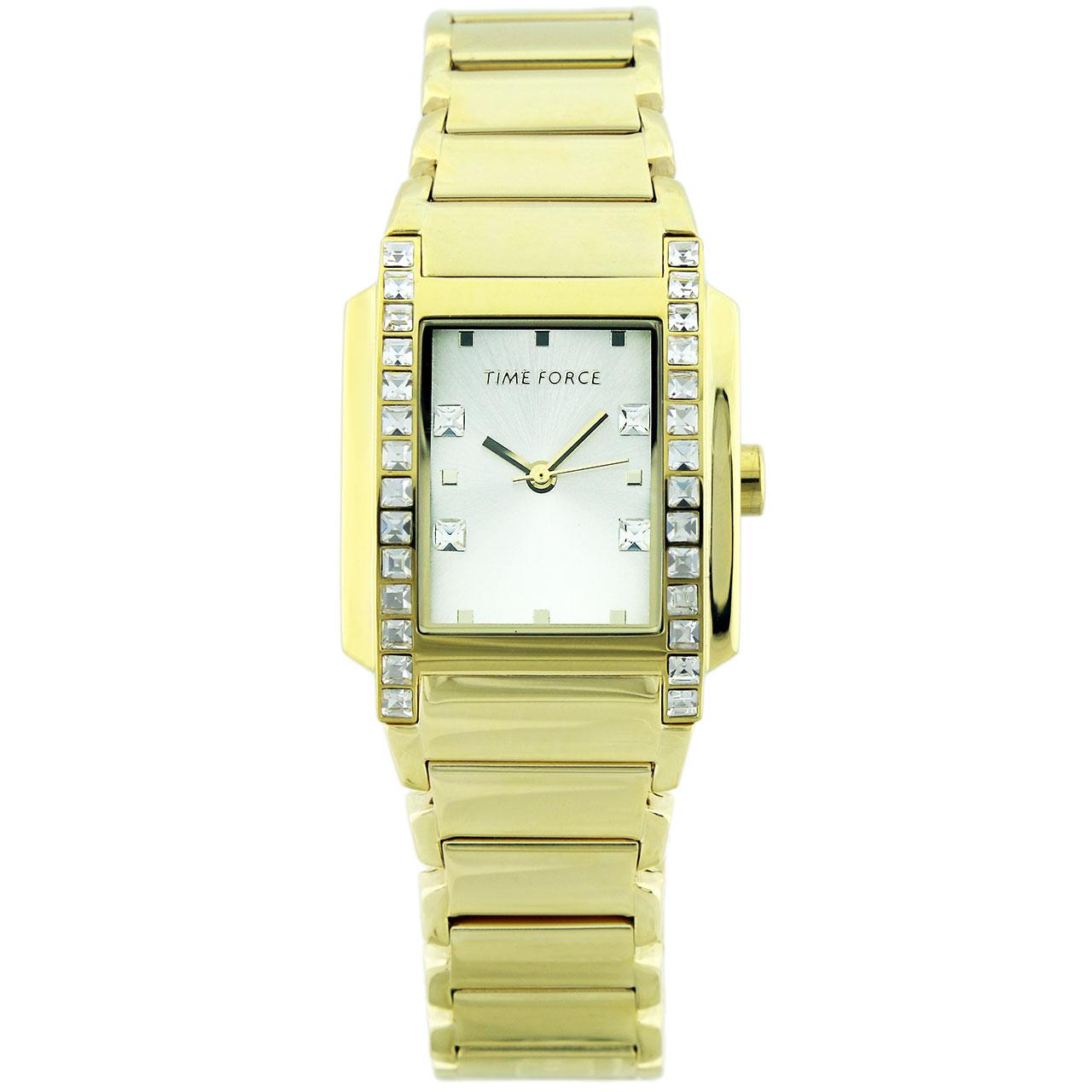 ساعت مچی عقربه ای زنانه تایم فورس مدل TF3394L09M