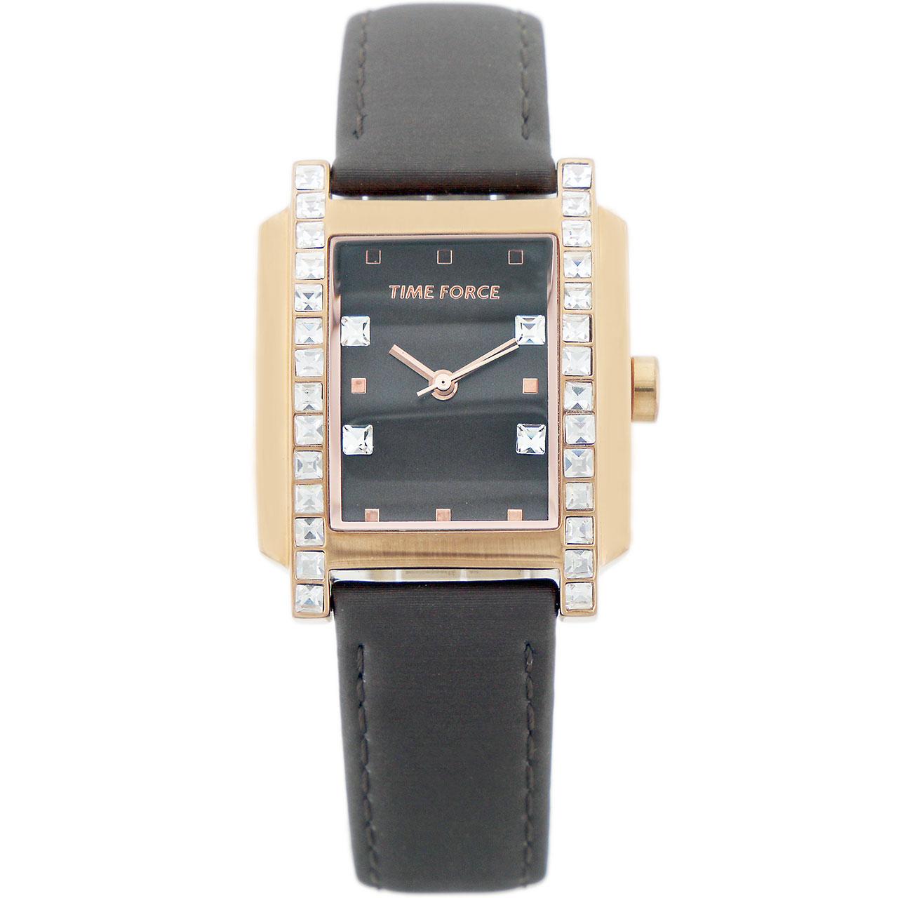 ساعت مچی عقربه ای زنانه تایم فورس مدل TF3394L15