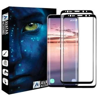محافظ صفحه نمایش آواتار مدل SS8P-2 مناسب برای گوشی موبایل سامسونگ Galaxy S8 plus بسته دو عددی
