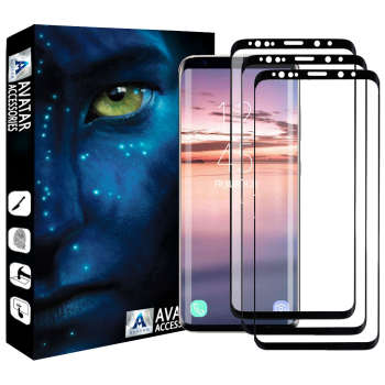 محافظ صفحه نمایش آواتار مدل SS9P-3 مناسب برای گوشی موبایل سامسونگ Galaxy S9 plus بسته سه عددی