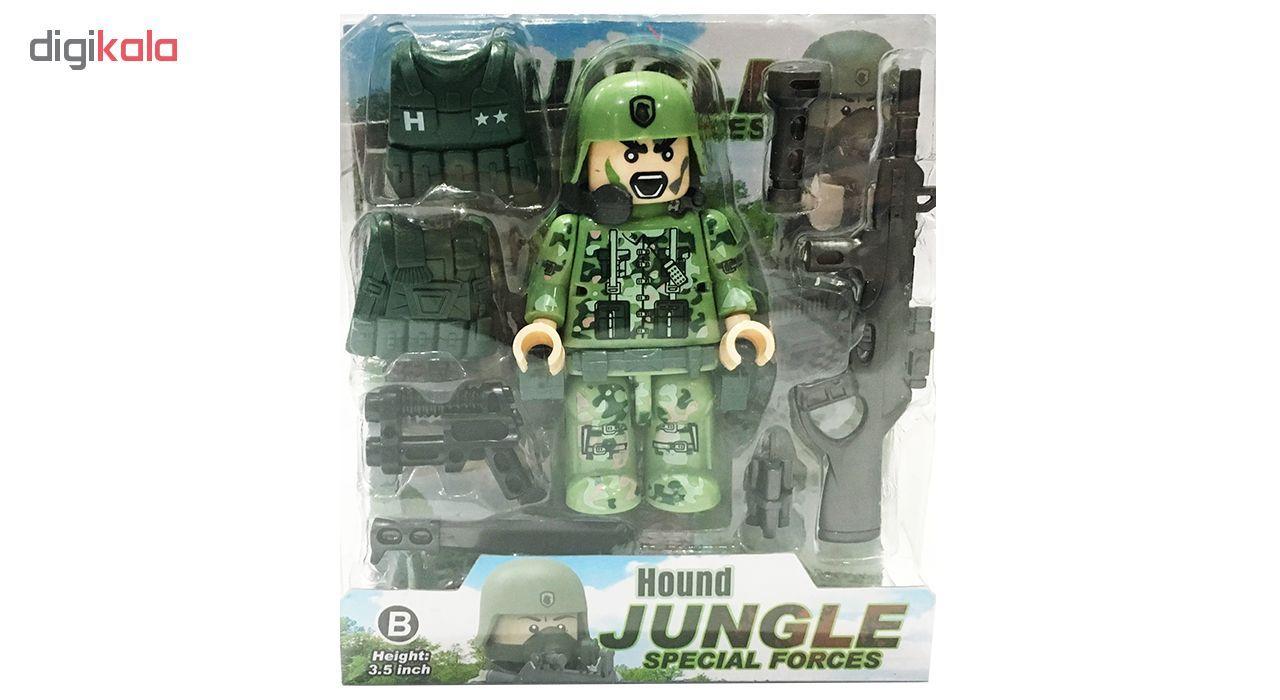 اسباب بازی جنگی دای طرح HOUND مدل 36B