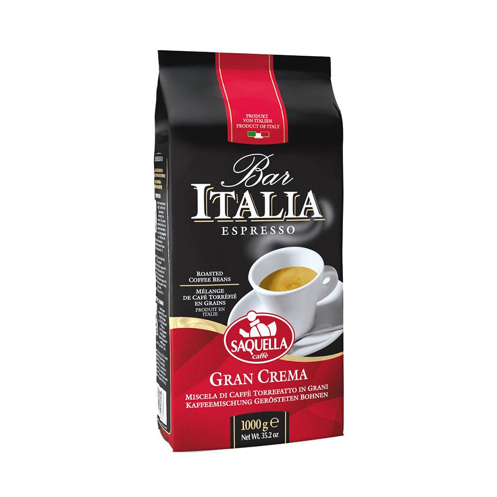 قهوه دان ساکوئلا مدل Gran Crema مقدار 1کیلوگرم