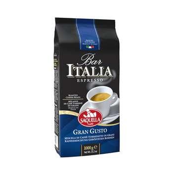 قهوه دان ساکوئلا مدل Gran Gusto مقدار 1 کیلوگرم