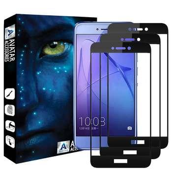 محافظ صفحه نمایش آواتار مدل HHNR8LTE-3 مناسب برای گوشی موبایل آنر 8 Lite بسته سه عددی