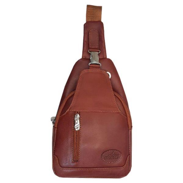 کیف دوشی چرم آنیل مدل توریست