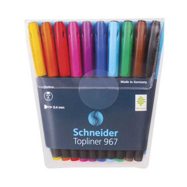 روان نویس 10 رنگ اشنایدر مدل تاپ لاینر