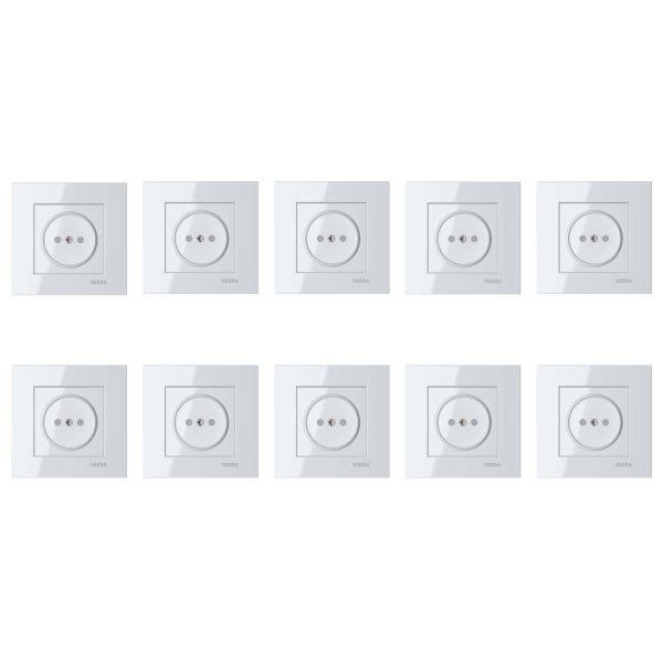 پریز برق ویرا مدل classic-1 بسته 10 عددی