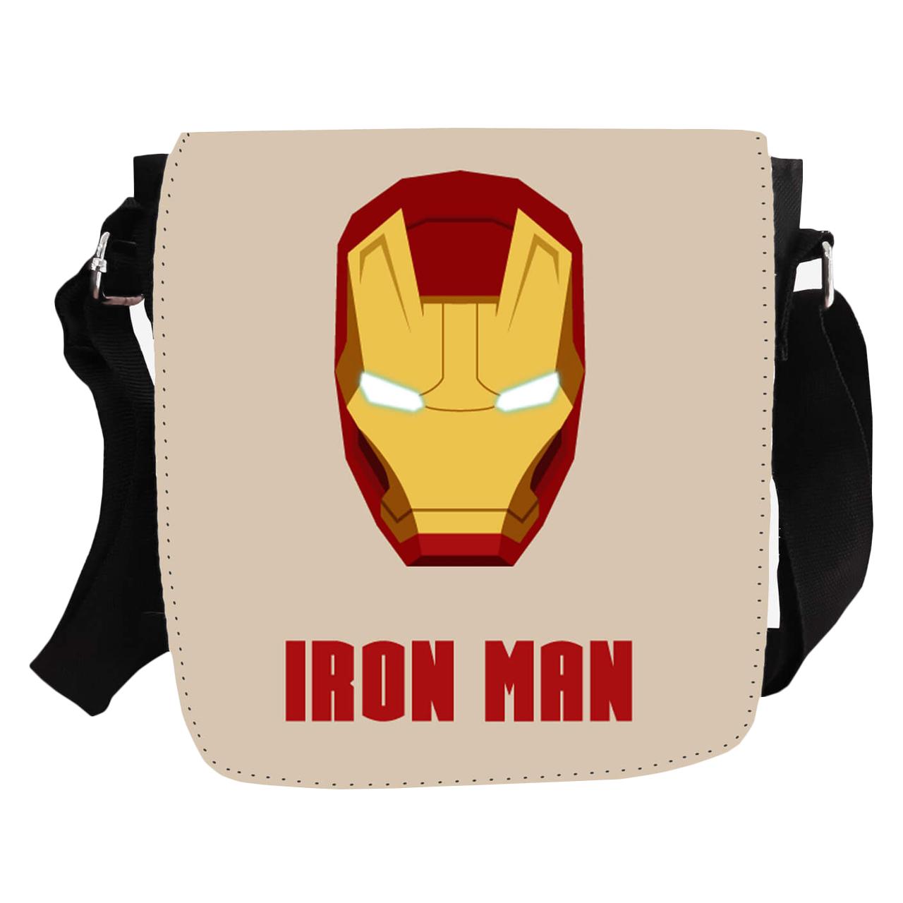 کیف دوشی طرح Iron man مدل KP-151