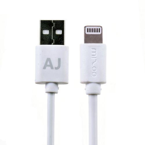 کابل تبدیل USB به لایتینگ میزو مدل Aj طول 1 متر