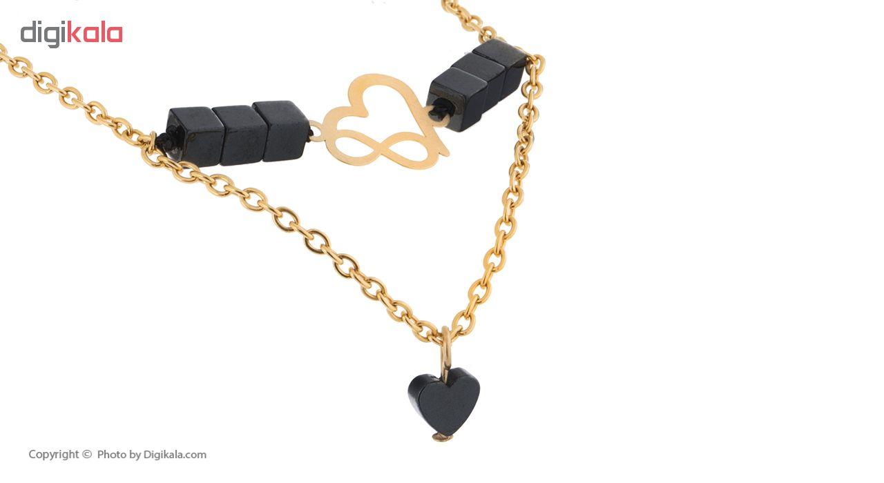 دستبند طلا زنانه الن نار مدل S.24