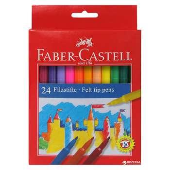 ماژیک 24 رنگ فابر کاستل مدل قلعه