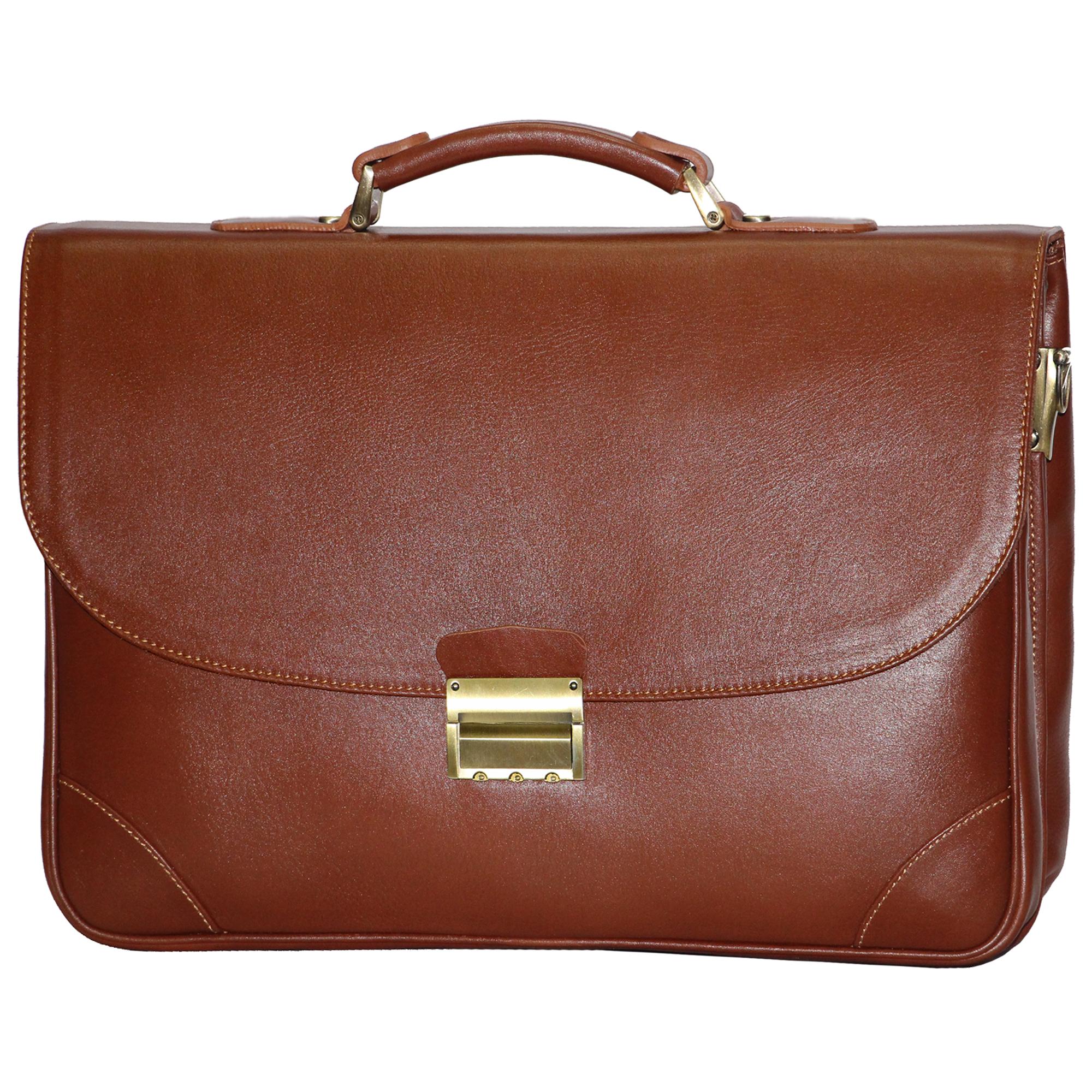 قیمت کیف اداری مردانه آدین چرم مدل DL60